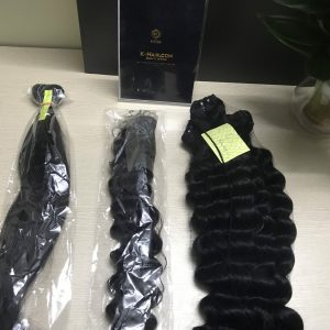 K3 – Deep Wavy Vietnamese best quality weft hair