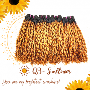 C3 – Sunflower Vietnamese best quality weft hair