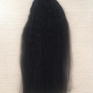 Weft S01 – Yaki Natural Black VietNamese Woman Weft Hair