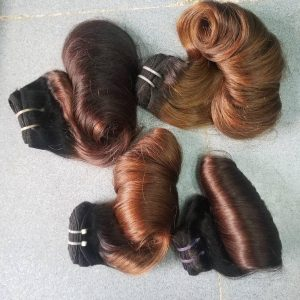C5-HONEY BROWN-Vietnamese best quality weft hair