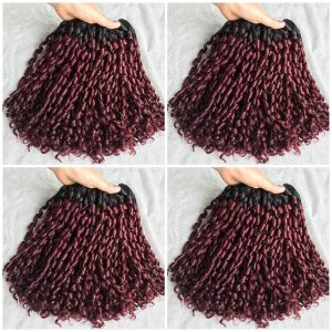C1 – Violet – Vietnamese best quality weft hair
