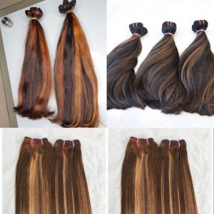 C8,C9,C10 – Piano colours collection Vietnamese best quality weft hair