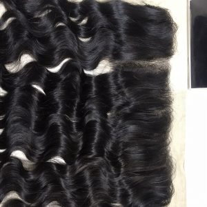 13×4 Deep Wavy Frontal Virgin Remy Hair