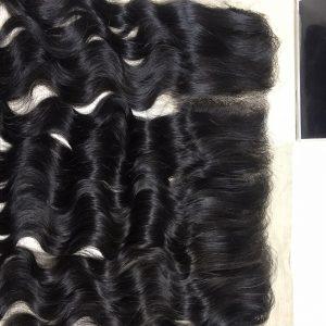 13×4 Deep Wavy Frontal Virgin Remy Hair