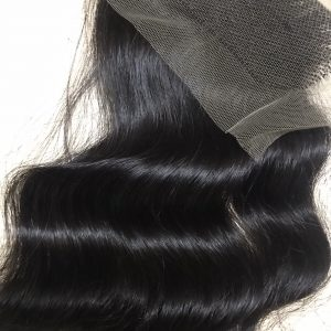 2×4 Wavy Closure Virgin Remy Hair