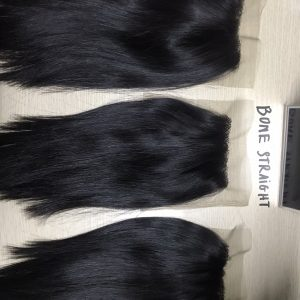 Closure 4×4 Bone Straight Virgin Remy Hair