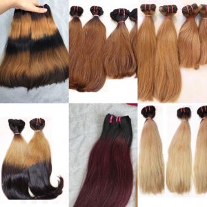 C11-> C16( most popular colours) Vietnamese best quality weft hair