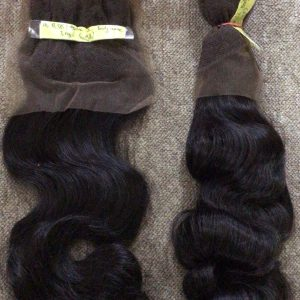 4×4 Body Wavy Closure Virgin Remy Hair