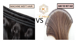 Hand-Tied Wefts and Machine Wefts