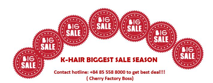 hair on sale