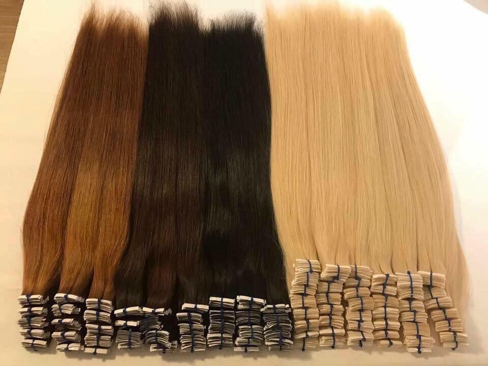 Tape hair samples