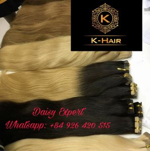 Tape-in Hair Extensions from K-hair Factory