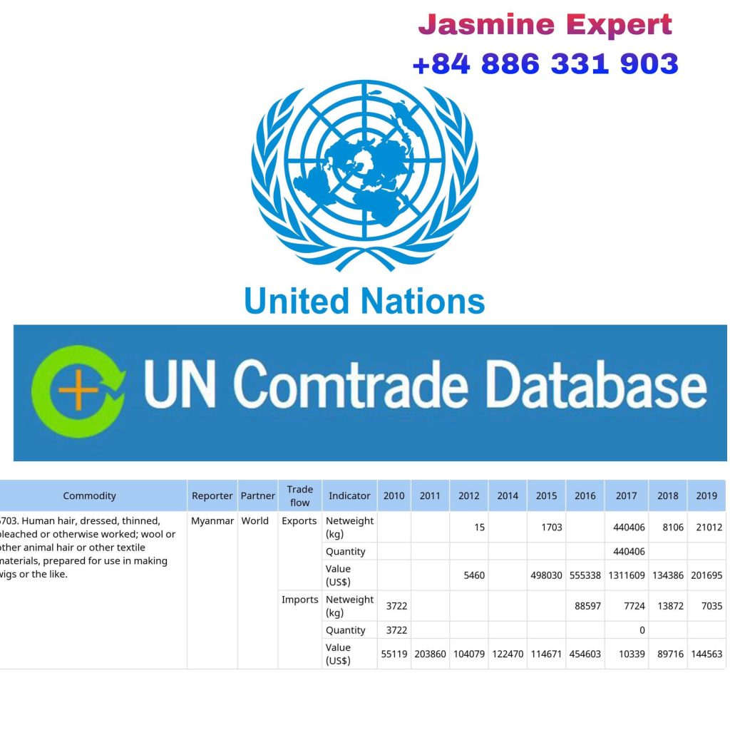 burmese-raw-hair-export-2020-statistics