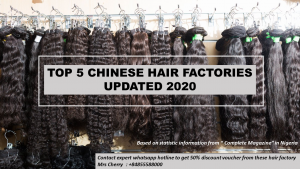 Best hair factories in China