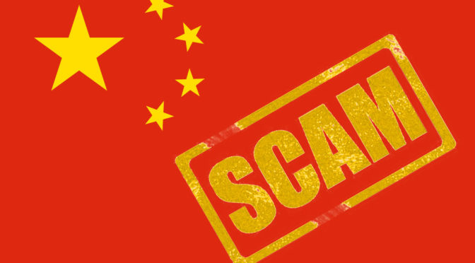 Chinese Scammers