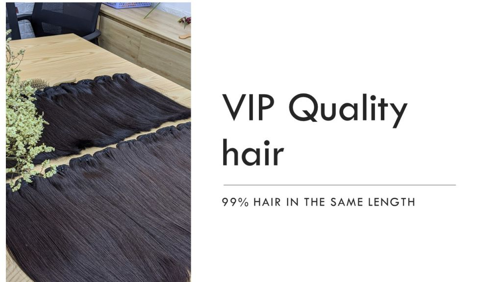 The best quality Vietnam hair weft 2