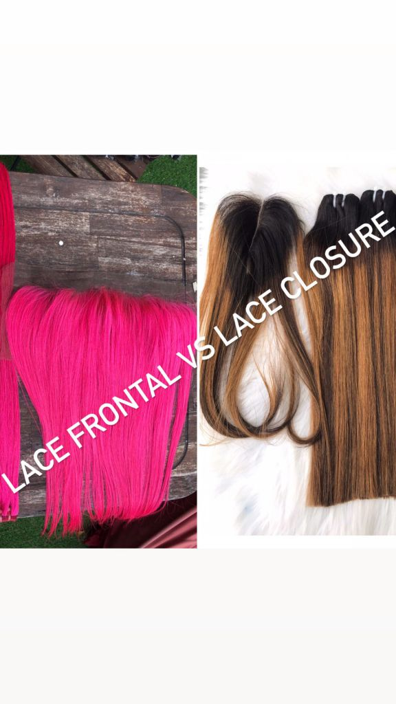 LACE FRONTAL vs LACE CLOSURE made by K-HAIR