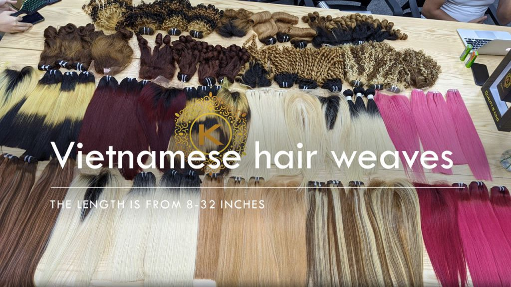Vietnam hair weft for vendors