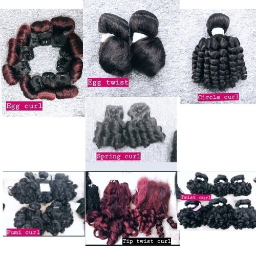 Different types of curly hair-K-hair products