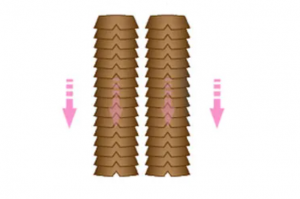 hair strands arranged in one direction of differences of virgin hair vs remy hair