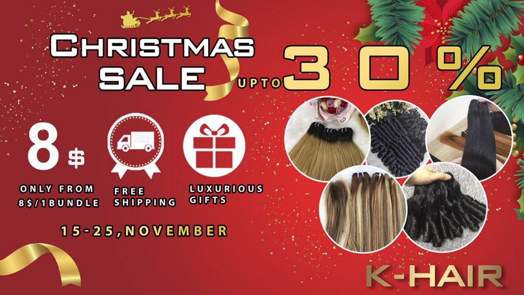 K hair Christmas Sale of year 2020 1