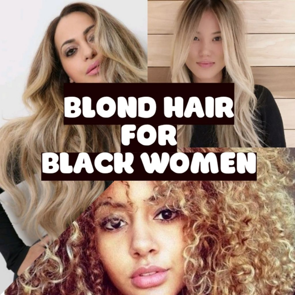 blonde hair black women