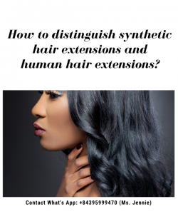 how-to-distinguish-synthetic-hair-extensions-and-human-hair-extensions