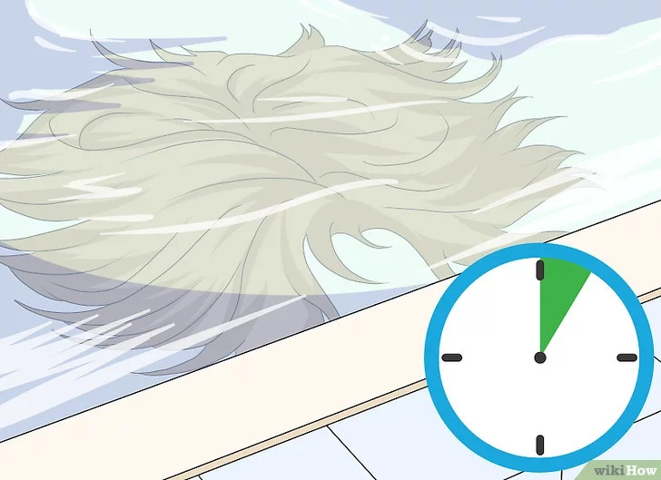 wash human hair wig 4