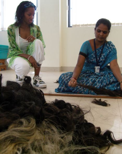 Indian-hair-shedding-and-tangle