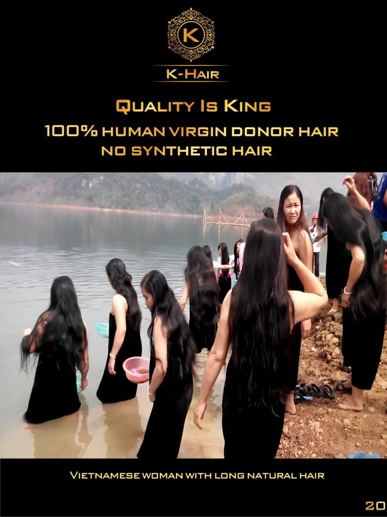 Vietnamese virgin hair the best quality in the world