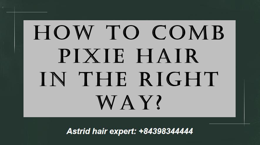 comb pixie curl
