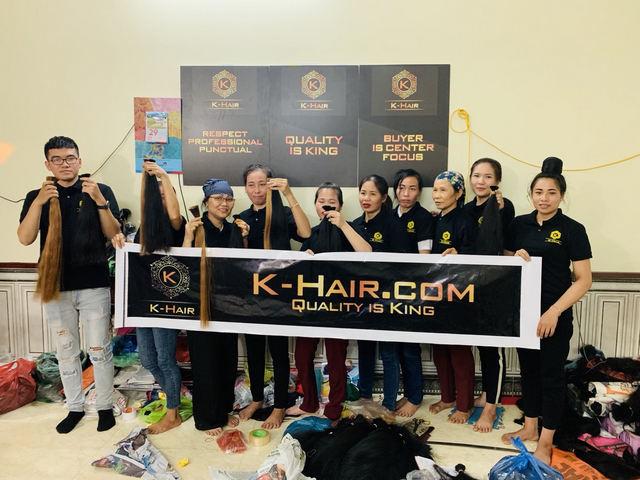 K-Hair Factory - The Top Hair Factory in Vietnam