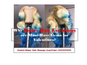 Why ombre hair extensions are musr-have items for your Valentines