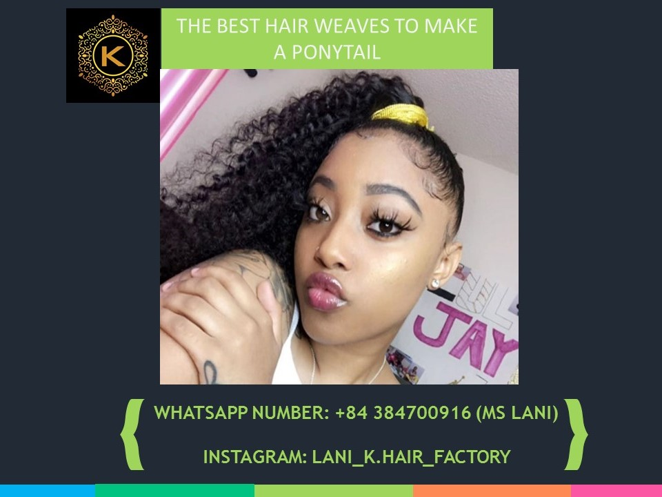 hair weaves to make a ponytail 2
