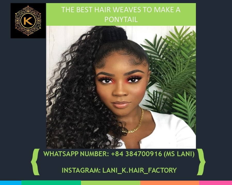 hair weaves to make a ponytail 4