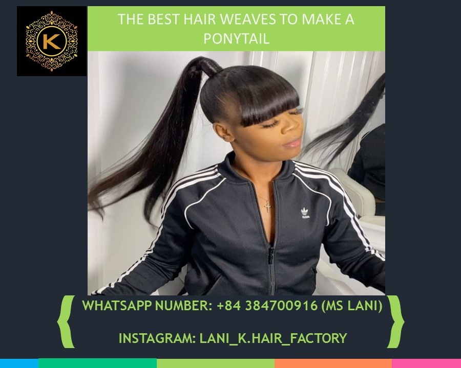 hair weaves to make a ponytail 5