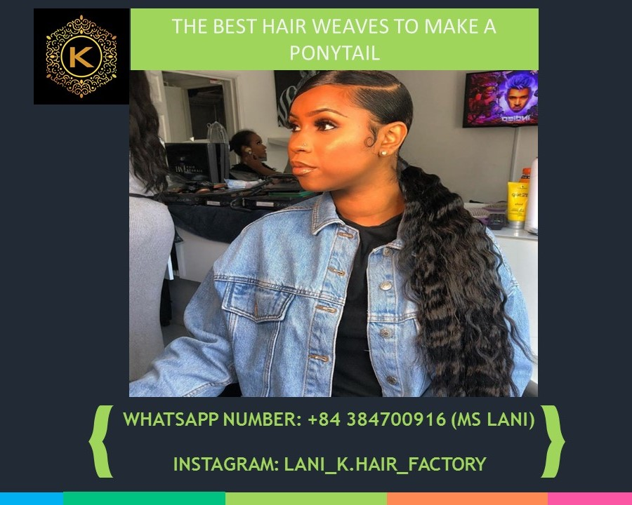 hair weaves to make a ponytail 6