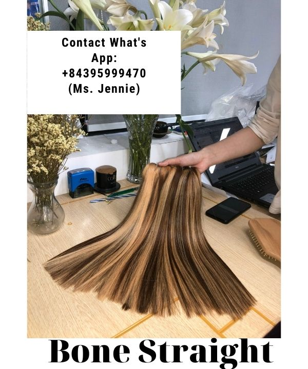 impressive-weft-hairstyles-using-for-first-date-piano-bone-straight