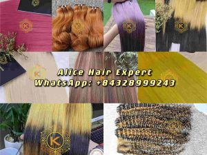 Machine Weft Hair _ Top 5 Hot Trend Hair Extension Styles By K-Hair