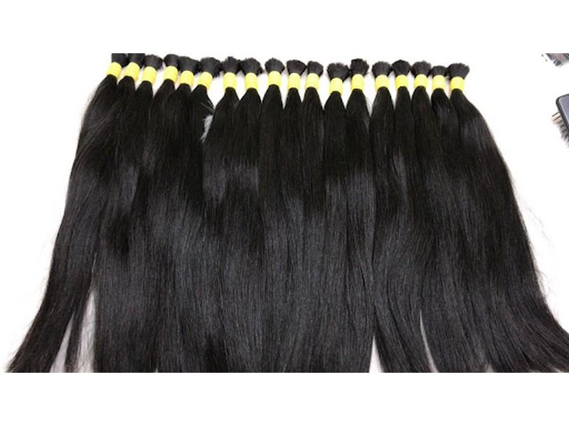 Natural Straight Human Virgin Hair 75 Cm Best virgin human hair
