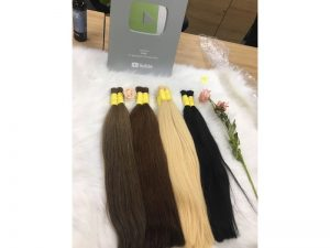 Natural Straight Human Virgin Hair 75 Cm Best virgin human hair extension 3