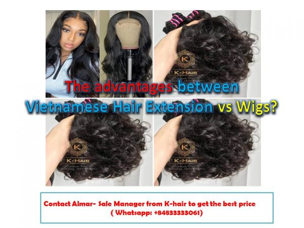 The advantages between Vietnamese Hair Extension vs Wigs