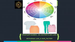 Apply the color wheel rule in matching outfit colors