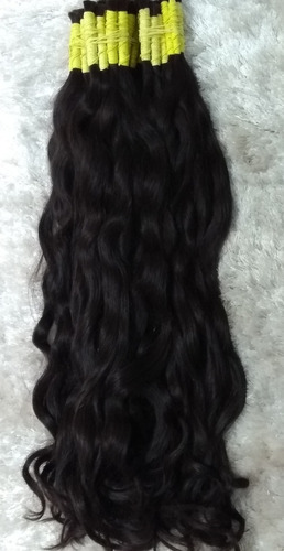 Light Brown Human Hair Light Curls In Bundles
