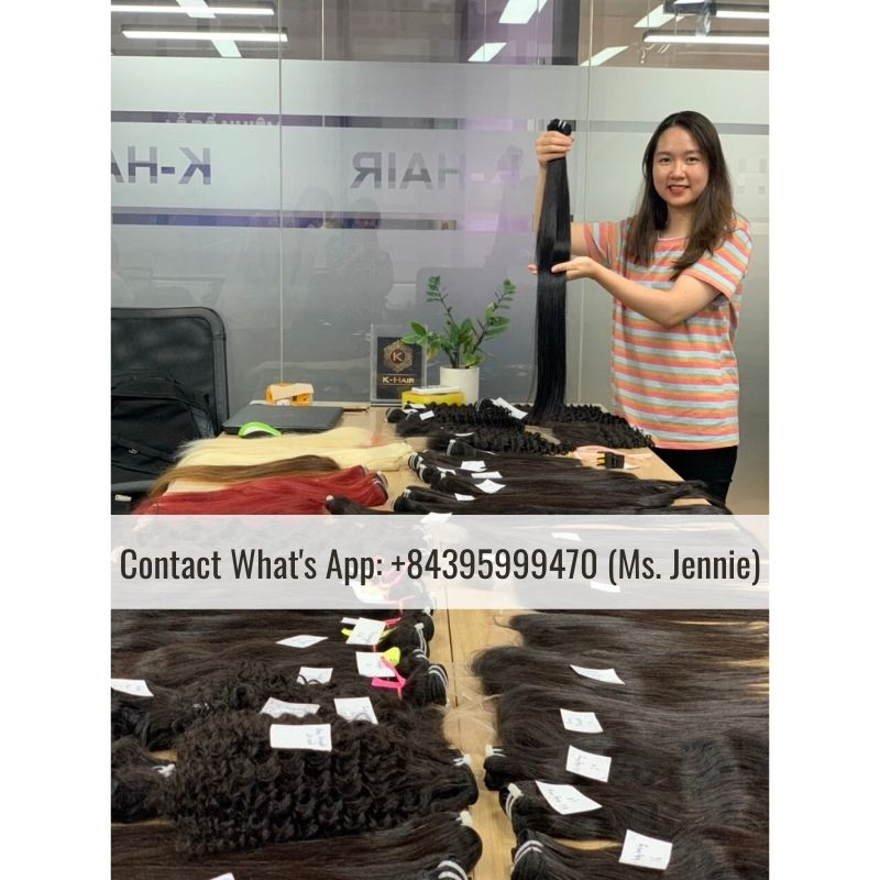 Vietnamese-Single-Drawn-weft-color-hair-Extension-jennie-k-hair