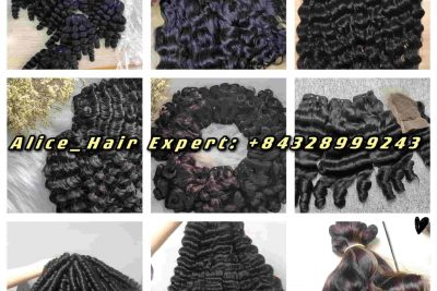 Vietnamese Super Double Drawn Weft Curly Hair Extension_K-Hair Collection