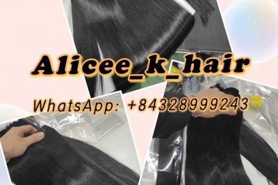 Vietnamese Super Double Bone Straight Hair Extension_Beautiful Bone Straight Hair by K-Hair