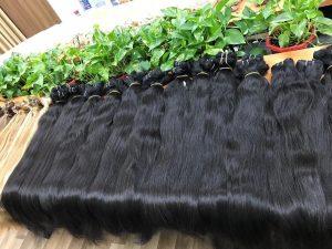 Natural Human Hair Virgin Hair 75cm - Best virgin human hair extension