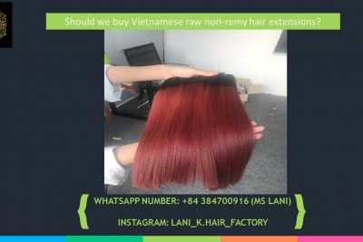 vietnamese raw non remy hair extensions 4