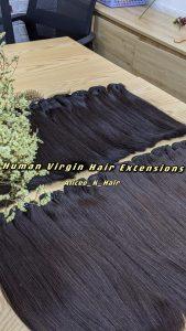 High Quality Human Virgin Hair Extensions By K-Hair